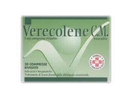 VERECOLENE CM 5 MG 20 COMPRESSE RIVESTITE