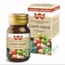 WINTER CAFFE' VERDE INTEGRATORE ALIMENTARE ANTIOSSIDANTE - 40 CAPSULE